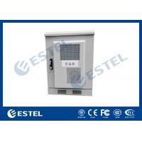 Best Small Size Outdoor Telecom Cabinet / Customized Sheet Metal Box With Heat Exchanger wholesale
