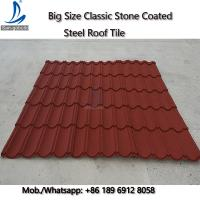 China 50-Years Warranty Classical Multi-Step Decras Stone Coated Roof Tiles Prices, Cheap Zinc Roof Tiles Zimbabwe on sale
