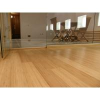 Best real High Gloss Horizontal or Vertical Solid Bamboo wood Flooring wholesale
