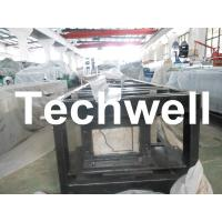Best Steel 0.3mm - 0.6mm Mobile / Portable Gutter Roll Forming Machine for Rainwater Gutter wholesale