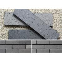 Quality Outside Decorative Brick Veneer Wall Panels Clay Wall Building Material With Rough Surface wholesale