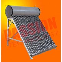 Best Wall Mounted Solar Water Heater , Tube Solar Hot Water System For Room Heating wholesale