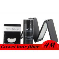 China Refillable Synthetic Hair Fibers , 28g Hair Loss Fibres To Cover Bald Spots on sale