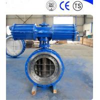 Best Pneumatic Metal Seat Butterfly Valves DN300 PN10 For Industrial Waste Water wholesale