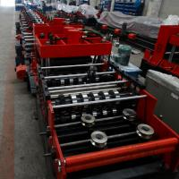 Best 15KW Z & C Purlin Roll Forming Machine With Hydraulic / Manual Decoiler And PLC Control Line wholesale