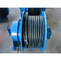 China Grounding Retractable Wire Rope Reel , Commercial Hose Reel Heavy Duty on sale