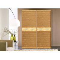 Built In Double Fitted Sliding Door Wardrobes With Shutter Doors Coloured