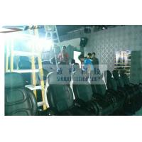 Best Installing 5D Cinema Equipment With Black Leather Motion Chairs wholesale