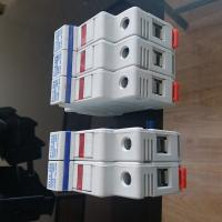 Best White Color Cylindrical Fusible Link Holder For Iec 60269 Fuses RO16 wholesale