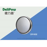 Environmental CR1632 Coin Cell Lithium Battery Heat Resistant