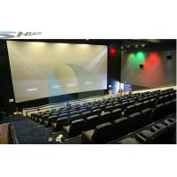 Best 4D Movie Theater Equipments 7.1 audio system with curved / flat Screen wholesale