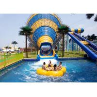 Best Anti - Fade Big Tornado Vortex Water Slide Corrosion Resistance Fiberglass wholesale