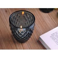 Best ASTM ODM / OEM Blue color replacement candle holder glass Top dia 88mm wholesale