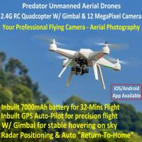 Best Predator Unmanned Aerial Vehicle 7CH RC Quadcopter Drone Photography Fly Camera Recorder wholesale