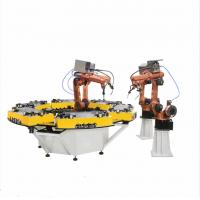 Best Assembly Line Welding Turntable Robot Positioner Steel Material New Condition wholesale