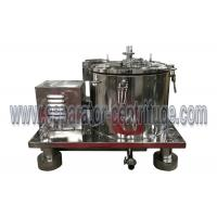 Cheap Vertical PPTD Top Discharge Basket Centrifuge For Hemp And Alcohol Extraction for sale