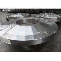 Best ST52 ST60-2 Carbon Steel Forged Rings Flanges Heat Treatment wholesale