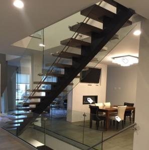 Best Classic european style black stair steel tread staircase wholesale