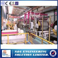 Buy cheap Cut To Length Line Metal Plate Cutting Machine , Durable Used Vertical Slitting Machine from wholesalers