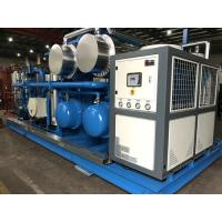 China Skid Mounted Hydrocarbon Recovery Unit , Refrigerant Recovery Machine Simple Installation on sale