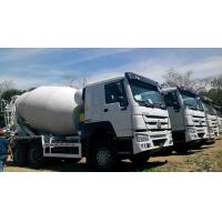 Best 12 Wheeler HOWO Concrete Mixer Truck 371HP Engine With 14M3 Tank Size wholesale