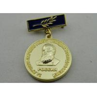 Best 3D Iron or Brass / Copper Custom Awards Medals with Die Casting, High 3D and High Polishing wholesale