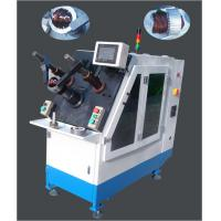 Details of stator winding coil inserting machine with for Linear induction motor winding