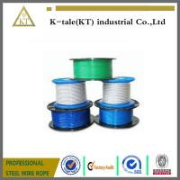 Best made in China ss304 plastic coated steel wire rope0.8mm-28mm wholesale