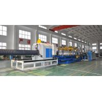 Best HDPE/PP Double Wall Corrugated Pipe Production Line , Corrugated Pipe Production Equipment wholesale