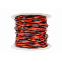 Cheap Flexible twisted pair cable 300/300 V Twisted cords with flexible fine stranded copper conductor 2 cores for sale