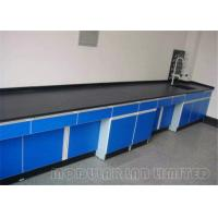 Best Solid Suspended Laboratory Work Benches 304 SUS Phenolic Resin wholesale