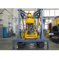 Best Yellow Spindle Crawler Core Drilling Rig , Drilling Diameter 75 - 800mm wholesale