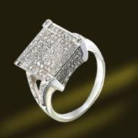 Best Ring Micro Pave 925 Silver Jewellry Ring wholesale