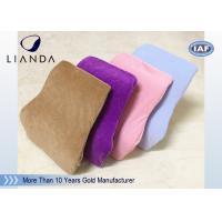 Best Comfort Velvet Fabric Driving Back Support Cushions For Car Seat , CE SGS Approval wholesale