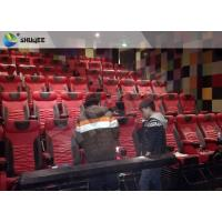 Best Extraordinary Sound Vibration 4D Movie Theater With Black Vibration Chairs wholesale