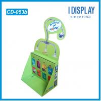 China Special Design PDQ Cardboard Countertop Displays With Pegs to Kid Toys , Eco friendly on sale