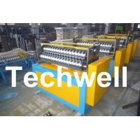 Best 11KW Motor Power / PLC Control Three Roller Bending Machine To Curve Corrugated Sheets wholesale