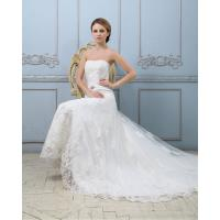 Best Slim Luxury Lace Strapless Wedding Gowns Heart shaped Sexy wedding dresses wholesale