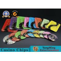 Best Casino Printable Acrylic Ultimate Poker Chips Jeton Diameter 81 * 56 / 94 * 66mm wholesale
