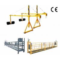 Quality 800 Rated load Personalized Rope Steel Suspended Platform with Dipping Zinc wholesale