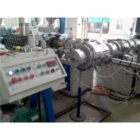 Best SGS Plastic PE Water Pipe Extrusion Line / PPR Co - Extruder High Output wholesale