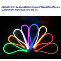 Cheap 110V exterior waterproof IP65 flexible led neon light for showcase decoration for sale