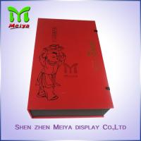 Best Recyclable Tea Gift Boxes With Plastic Tray And Clasp , food gift boxes packaging wholesale