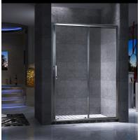 Best Shinning Chrome Framed Glass Shower Enclosure Clear Stainless Steel Handle wholesale