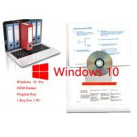 Best 32/64 Bit Windows 10 Pro OEM Sticker Professional Computer Software with Product Key wholesale