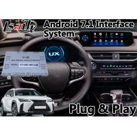 Buy cheap Android 7.1 GPS Navigation Interface for Lexus UX250 Touchpad Control GPS 2018 from wholesalers