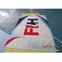 Cheap Custom Made Outdoor Advertising Banners , Printing Advertising Banners And Flags for sale