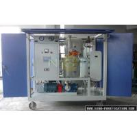 Best Movable Automatic Vacuum Oil Purifier With PLC Control Fully Touch Screen Flow Monitoring wholesale