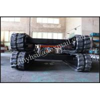 Best 6 ton rubber track undercarriage rubber crawler undercarriage wholesale