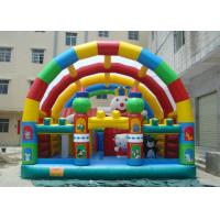 Best OEM Accepted Bounce House Park , Bounce House Amusement Park 1000D PVC wholesale
